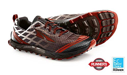 Altra Men's Superior 2 Trail Running Shoe, Racing Red/Chocolate, 9.5 M US (Kinvara 2 compare prices)