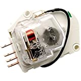2176648 - FACTORY OEM ORIGINAL WHIRLPOOL KENMORE MAYTAG ROPER KITCHENAID MAGIC CHEF AMANA REFRIGERATOR DEFROST TIMER FOR ALL 8, 10, 12 HOUR APPLICATIONS. GROUNDLESS W/ FLYING LEAD