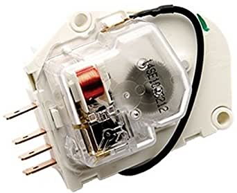 2188371 - FACTORY OEM ORIGINAL WHIRLPOOL KENMORE MAYTAG ROPER KITCHENAID MAGIC CHEF AMANA REFRIGERATOR DEFROST TIMER FOR ALL 8, 10, 12 HOUR APPLICATIONS. GROUNDLESS W/ FLYING LEAD
