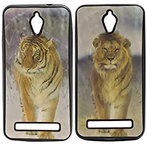 DMG Premium 3D TPU Protective Back Cover Case for Asus Zenfone C (Tiger)