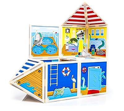 Build & Imagine Marine Rescue Center Building Kit