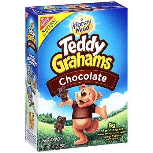 Teddy Grahams Crackers, (Chocolate, 10-Ounce Boxes, 6-Pack) (Chocolate Graham Crackers compare prices)