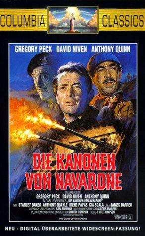 Die Kanonen von Navarone [VHS]