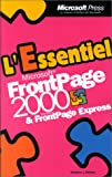 Microsoft FrontPage 2000 et Microsoft FrontPage Express