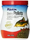 Aqueon 06189 Shrimp Pellets Fish Food, 6-1/2-Ounce