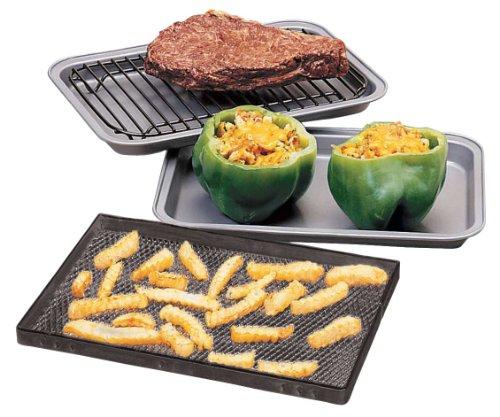 WalterDrake Toaster Oven Pans - Set of 3