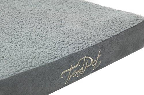 Bild von: TrendPet VitaMedog - Viskoelastische Matratze für Hunde 75 x 55 x 5 cm grau Hundebett