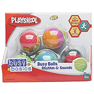 Playskool Busy Basics Busy Balls:  Rhythm & Sounds