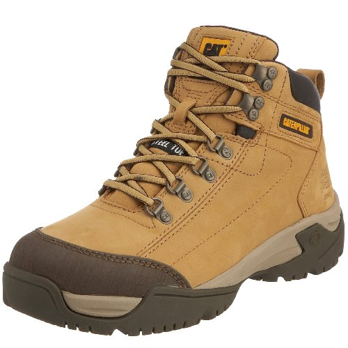 Cat Footwear Men's Wiregate S1 Safety Boot Honey P710807 10 UK