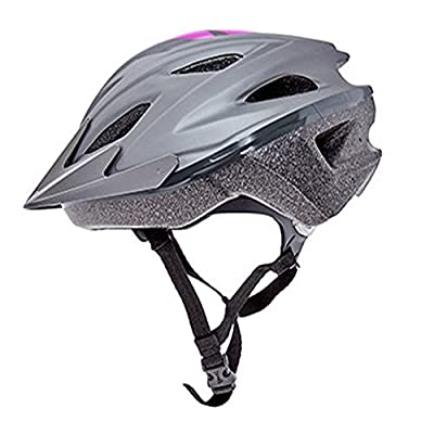 BELL Girl Grey & Purple Bike Helmet Age 14+years by Bell