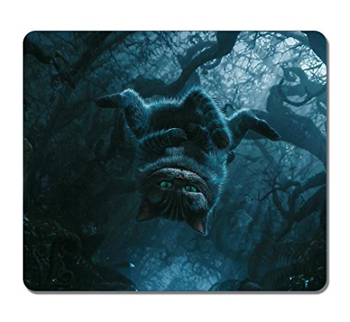 Customized Rectangle Non-Slip Rubber Large Mousepad Cheshire Cat Alice In Wonderland Movie Fashion Gaming Mouse Pad Large Mousepad Gaming Pad Large Mouse (Cat On Alice And Wonderland)