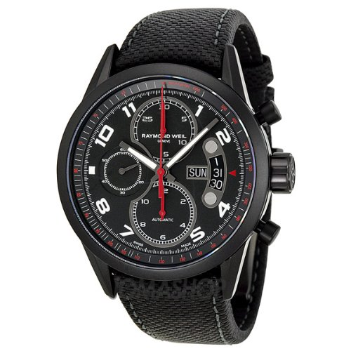 Raymond Weil Freelancer Chronograph Urban Black Dial Mens Watch 7730-BK-05207