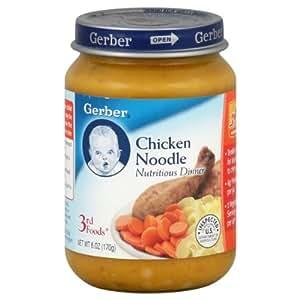 Gerber Chicken Noodle Baby Food