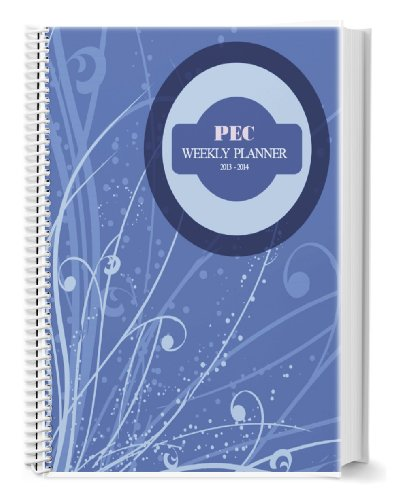 Adhd Expert Certified Weekly Planner With Calendar And Goals Journal By Abigail Levrini - Organizing Supplement For Adults And Older Children With Attention Deficit Hyperactivity Disorder - 8.5X11 Spiral Bound - 12 Months - October 2014-2015