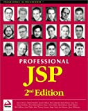 img - for Professional JSP 2nd Edition book / textbook / text book