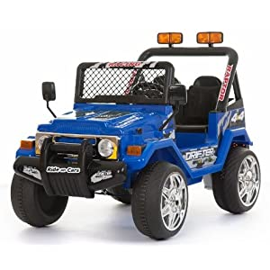 BLUE 12V BATTERY OPERATED 4x4 style Jeep/Truck