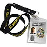 US Border Patrol ID Holder Lanyard & Key Cord #67274