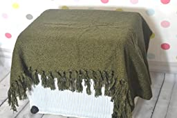 Newborn Baby photography photo props polyester Basket Stuffer Background blanket rug TZ15