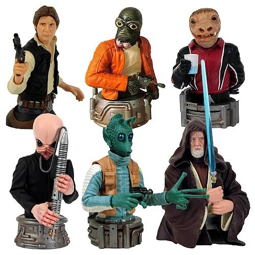 Star Wars Bust-Ups Series 6 6-Pack - Buy Star Wars Bust-Ups Series 6 6-Pack - Purchase Star Wars Bust-Ups Series 6 6-Pack (Gentle Giant, Toys & Games,Categories,Action Figures,Statues Maquettes & Busts)