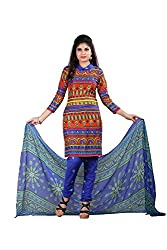 Monika Silk Mill Presents Multi Color Designer Salwar Suit