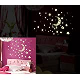Moon And Stars Wall Stickers Y_UUSH