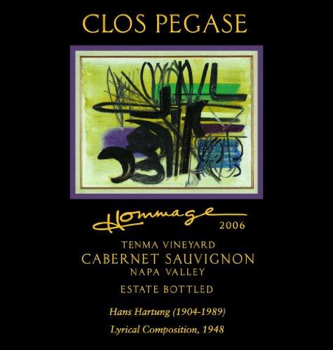 2006 Clos Pegase Cabernet Sauvignon Hommage Artist Series Reserve Tenma Vineyard Napa Valley 750 Ml