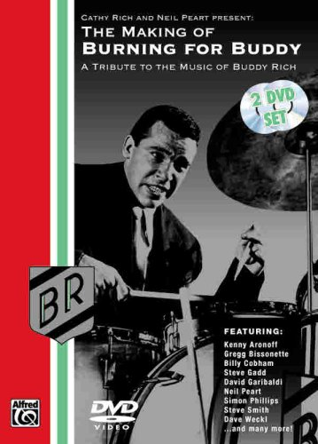 The Making Of Burning For Buddy:A Tribute To The Music Of Buddy Rich (Two-Disc Set) front-897969