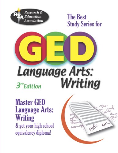Arts, Writing (REA) -- The Best Test Prep for the GED (Test Preps