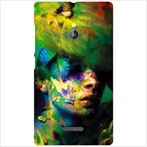 Nokia XL RM-1030/RM-1042 Back Cover - Mixed Colors Designer Cases