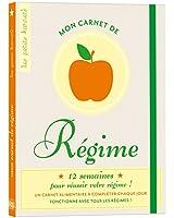 Mon carnet de régime - Ed 2012