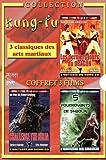 echange, troc Coffret kung-fu : les derniers jours du dragon ; challenge the ninja ; foudroyant de shaolin