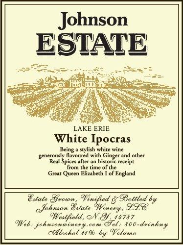 Nv Johnson Estate Lake Erie White Ipocras 750 Ml