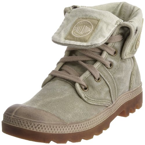 Palladium PALLABROUSE BAGGY BLACK/VAPOR M 92478-011-M, Stivali donna, Multicolore (Beige (DK KHAKI/PUTTY)), 40.5