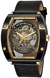 Stuhrling Original Men's 206B.333530 Zeppelin 72 Automatic Skeletonized Watch