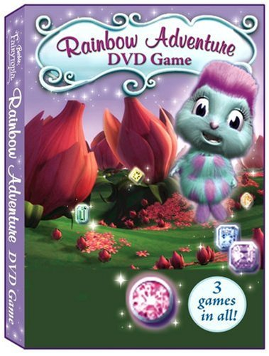 Barbie Fairytopia Magic of the Rainbow: Rainbow Adventure - Elina & DVD Game - 1
