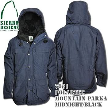 Polartec Mountain Parka 7931: Midnight / Black