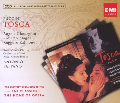 Tosca  (Antonio Papano ) - Puccini  - CD