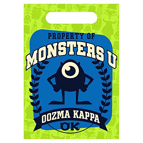 Monsters University Favor Bags (8 Count) - 1