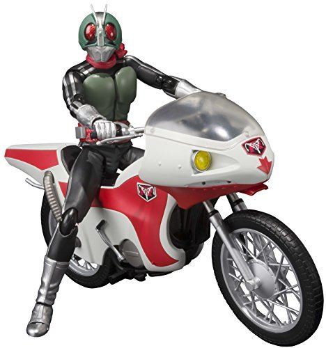 "Bandai Tamashii Nations S.H.Figuarts Masked Rider New 1 And New Cyclone ""Masked Rider"" Action Figure"