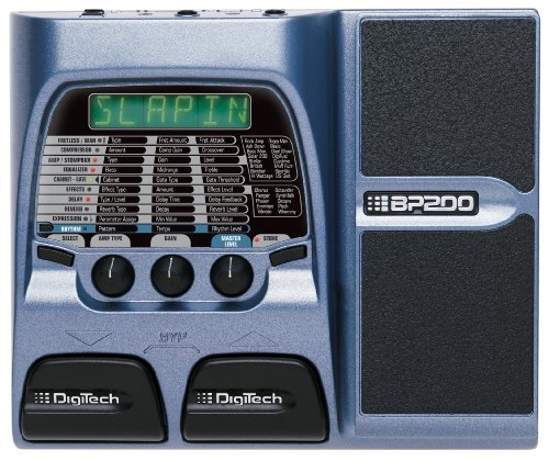 Digitech BP200 Modeling Bass Guitar Processor