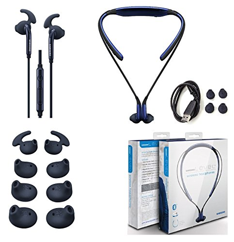 Original Samsung Level U Bluetooth Headset - HD Sound - With Samsung Active Headset 3.5mm Jack Universal with Extra Ear Gel + Stylus (Retail Packing) (Samsung Mini Level compare prices)