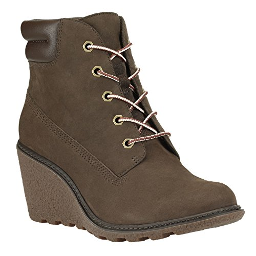 Timberland Women's Earthkeepers Amston Boot 8252a Dark Brown