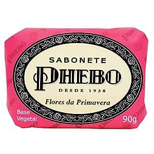 Amazon.com : Linha Tradicional Phebo - Sabonete em Barra de Glicerina