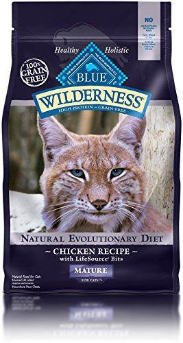 BLUE Buffalo Wilderness Chicken Recipe For Mature Cats (Dry)