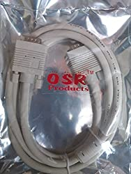 Teabyte High Quality VGA Cable 1080 Pixel Supported 1.5 Meter