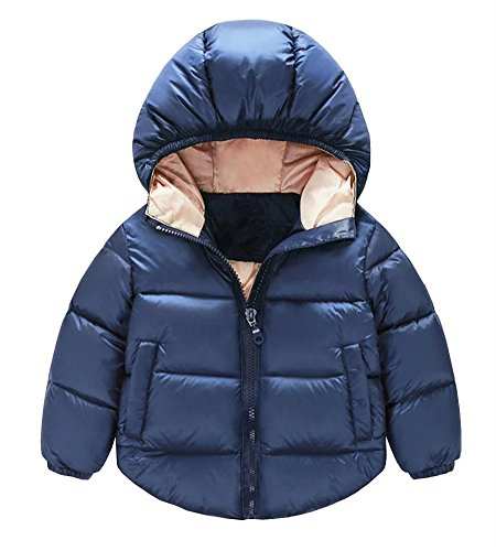 Toddler Baby Boys Girls Outerwear Hooded coats Winter Jacket Kids Clothes