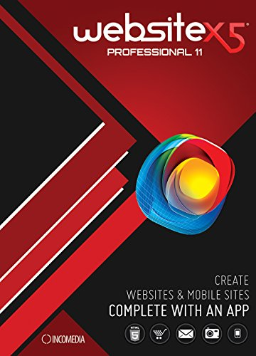 WebSite X5 Professional 11 DEMO Version [Download] (Web Site Software compare prices)