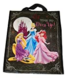 Disney Halloween Trick or Treat Tote Bag ~ Time to Dress Up! (Black; Rapunzel, Cinderella, Ariel)