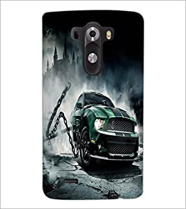 PrintDhaba Car D-2139 Back Case Cover for LG G3 (Multi-Coloured)