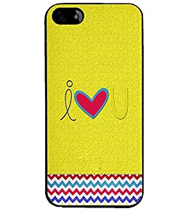 PrintDhaba Quote D-3921 Back Case Cover for APPLE IPHONE 5 (Multi-Coloured)